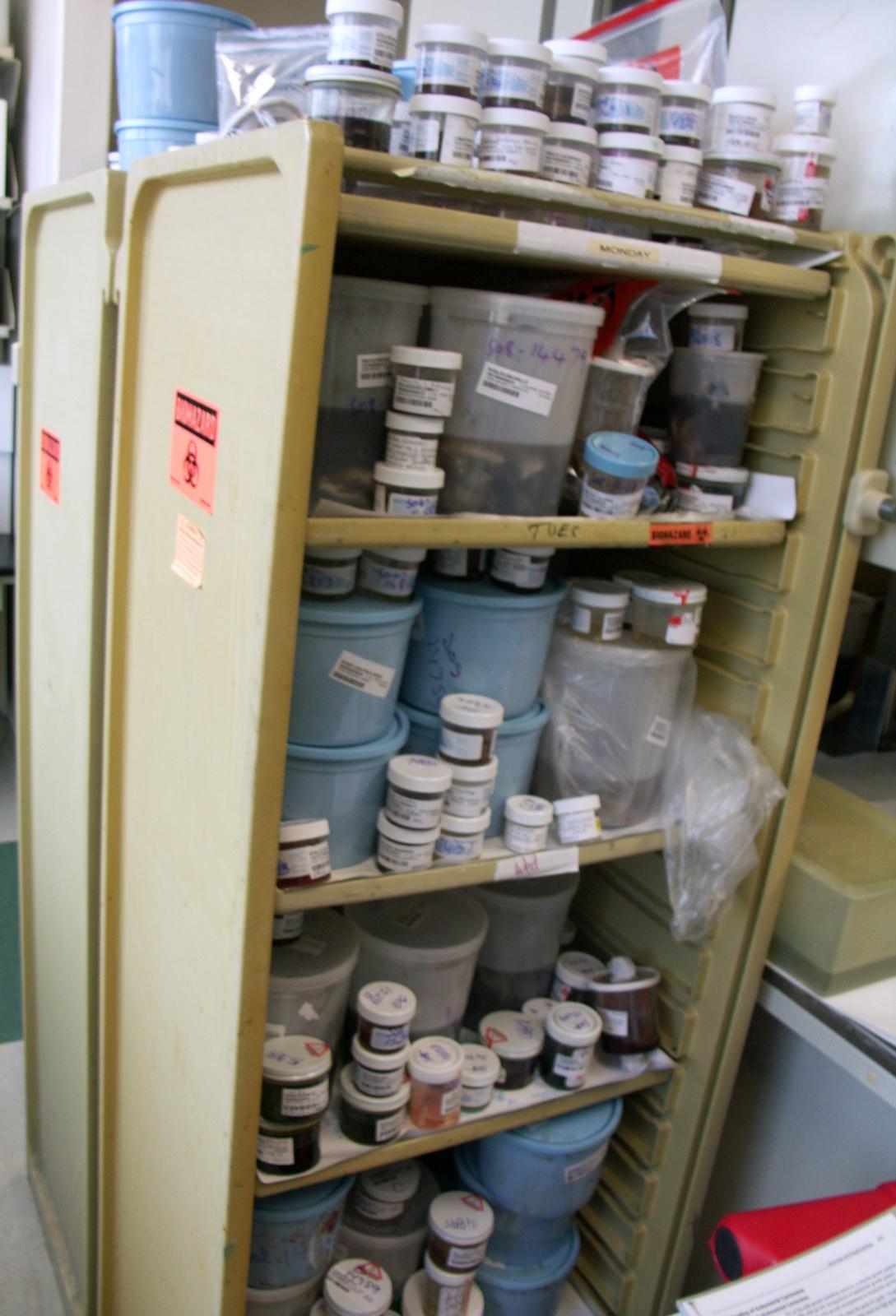 Specimen Storage In The Surgical Pathology Laboratory